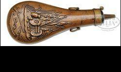 $400 Scarce Colt Dragoon Flask