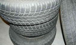 $400 Tires on rims 205/65 R15 (Caldwell)