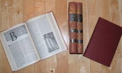 $40 1955 Funk & Wagnall's Encyclopedia Set