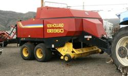 $40,500 New Holland BB960 Square Baler