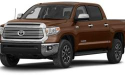$40,870 2014 Toyota Tundra CrewMax 5.7L V8 6-Spd AT SR5
