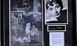 $40 Actress, Audrey Hepburn Hologram