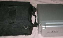 "$40 AudioVox Video in a Bag System w/5"" LCD Monitor & VHS"