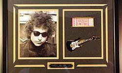 $40 Bob Dylan Giclee with engraved signature