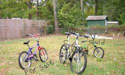 "$40 Boys 20"" Huffy Red White and Blue Bicycle=EXCELENT"