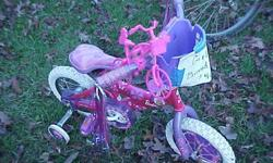 "$40 Brand New 12"" Ride with Me Barbie Bike"