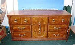 $40 Bureau/Dresser ~ Large 9 Drawers