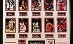 $40 Chicago Bulls 10 Giclees of the greatest players!