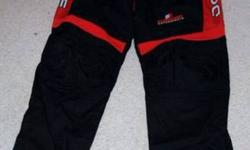 $40 Dodge Evernham Racing Uniform Crew Pants Black and Red