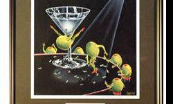 $40 Even Dirtier Martini Posters by Michael Godard