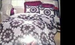 $40 Full/Queen Quilt 86x86 NEW