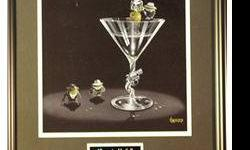 $40 Gangster Martini Posters by Michael Godard