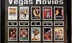 $40 Giclees of The 10 Greatest Vegas Movies
