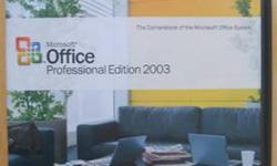 $40 Microsoft Office Professional Edition 2003 Upgrade