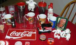 $40 Misc. Coca Cola Items (Prp)