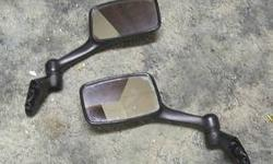 $40 Ninja 250 Mirrors 88-07 Kawasaki Left & Right Factory