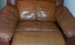 $40 OBO Leather Recliner