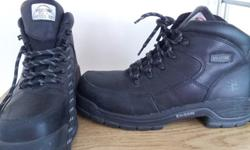$40 OBO Women?s 8.5 Safety-Toe Black Boots