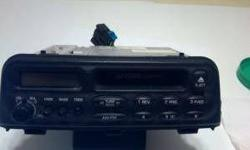 $40 Stock Saturn Am/FM Radio with Cassette for 1998-1999 SL1