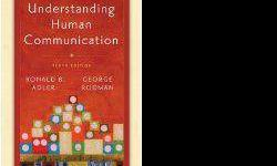 $40 Textbook: Understanding Human Communication .. [phone