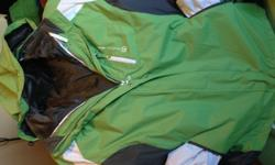 $40 Women's Open Country 3 in 1 Coat 2XL- Green/Grey/White