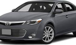 $41,080 2014 Toyota Avalon 4dr Sdn Limited