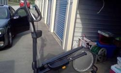 $425 Golds Gym Elliptical Stride Trainer 410 -BRAND NEW