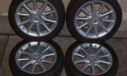 $425 LIKE NEW! SET - 17 Italian Wheels / BFG Tires SUBARU
