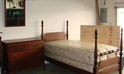 $425 Traditional - Solid Wood - Twin Bedroom Set (1940's or
