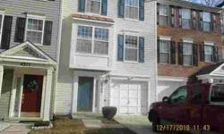 4309 Skipton CT Upper Marlboro Three BR, 3 level town home