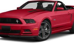 $43,985 2014 Ford Mustang GT