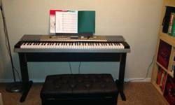 $440 YAMAHA 88-key Portable Grand Graded-Action USB Keyboard