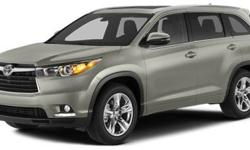 $44,704 2014 Toyota Highlander AWD 4dr V6 Limited Platinum