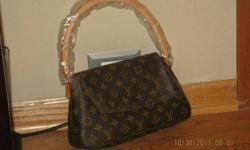 $450 Authentic Louis Vuitton Monogram Mini Looping Bag