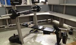 $450 Golds Gym Weight Bench