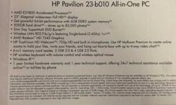 $450 HP Pavilion 23-b010 All-in-One****** (Dearborn Heights/