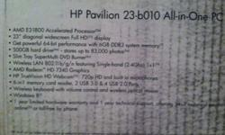 $450 HP Pavilion All-in-One PC