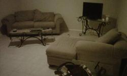 $450 Kitchen table w/4 chairs, love seat, couch, chaise