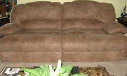 $450 Lane Double Reclining Sofa