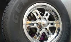 $450 OBO Chevy Traiblazer Tire and Rim set