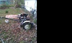 $450 two wheer tow dolly trailer (flint)