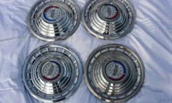 "$45 1963 Ford Galaxie Set of Four (4) 14"" Wheel Covers"