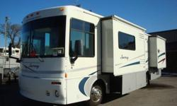 $45,900 2001 Winnebago 32ft Diesel Journey with 2 slides