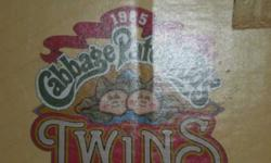 $45 cabbage patch twins 1980's (nw okc)