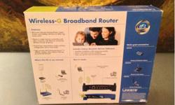 $45 Linksys wireless-g broadband router (Okc, ok)