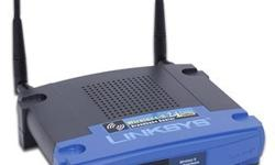 $45 Linksys WRT54G 802.11G Wireless Router - DD-WRT