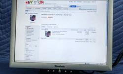 "$45 ViewSonic 17"" LCD Monitor VE710s"