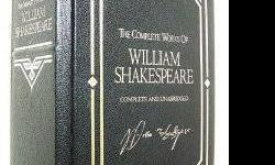 $45 William Shakespeare: The Complete Works, Deluxe Edition