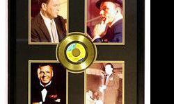 $462 Frank Sinatra four Giclees with Gold Record