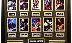 $462 Giclees of The 10 Greatest Guitar Players